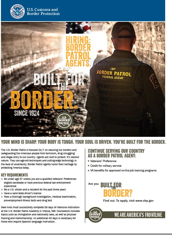 Border control job description